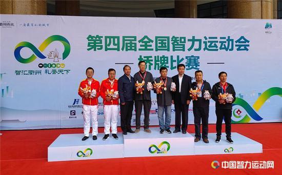 标兵:2019年桥牌回顾(三) 第四届全国智运会举办