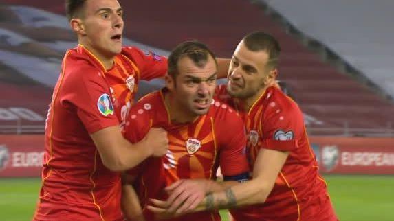 絕殺格魯吉亞,帶北馬其頓挺進歐洲杯
