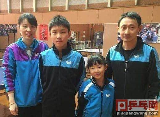 """张本智和一家,其中他和妹妹都已经""""归化""""日本"""