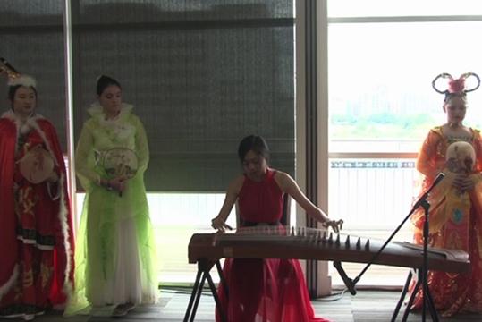 中国传统文化节目――古筝演奏