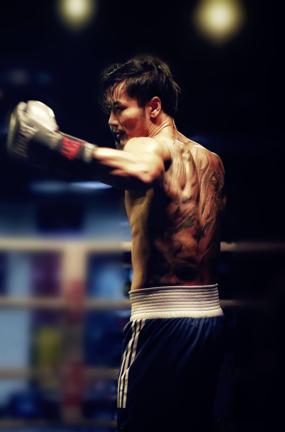 《拳星滙》新年首发新能量 薛皓文拳台挑战自我图片