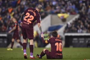 赛季首败!国王杯梅西失点巴萨0-1西班牙人