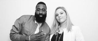 美女摄影师成NBA球星收集器