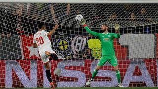 德赫亚屡次救险 曼联0-0客平塞维利亚