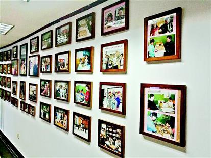 图为:照片墙