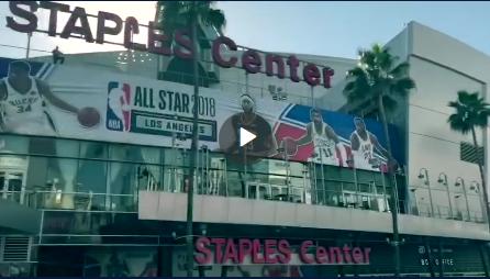 视频-洛杉矶全明星拉开序幕 小编抵达前方High起来