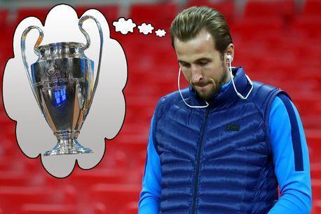 凯恩:常常幻想捧起欧冠奖杯