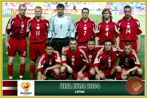拉脱维亚是D级联赛中唯一打过欧洲杯的球队