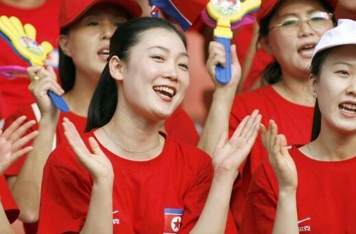 朝鲜女子啦啦队