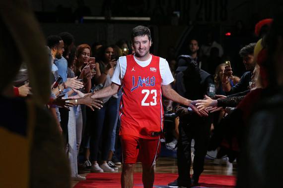巴巴跨界NBA全明星