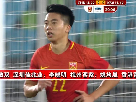 中国U22队大名单...