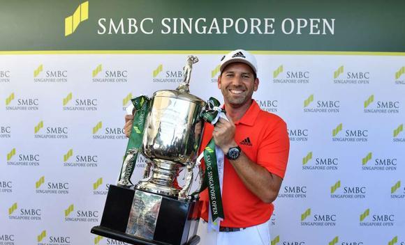 新加坡公开赛加西亚夺冠 张华创并列第12名