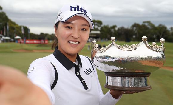 澳洲公开赛高真荣完胜 加入LPGA首战即夺冠