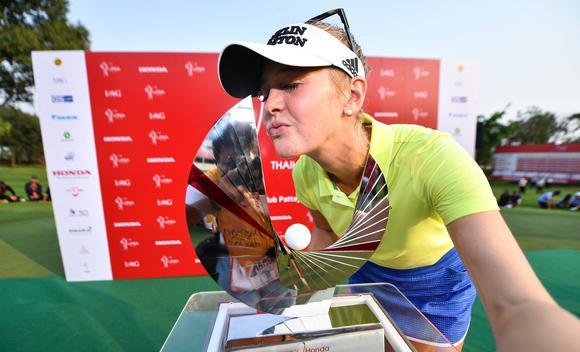 泰国LPGA赛科达赢第五冠 打破三年冠军荒
