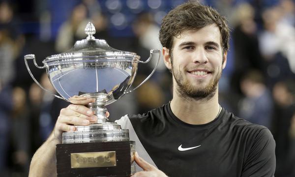 高清-马赛公开赛卡恰诺夫夺得生涯第二冠