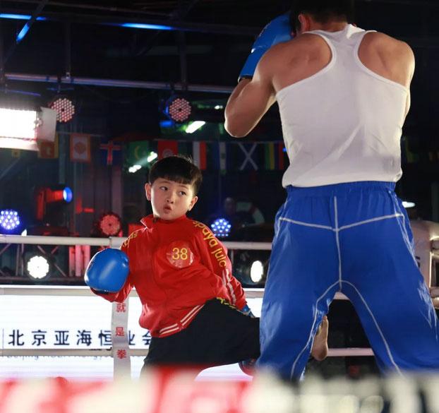 9岁孙胜煜对战功夫天团