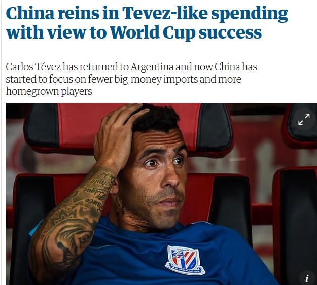 英媒:特维斯给中国人上课 若进世界杯有他的功劳