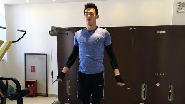 孙杨训练迷倒众人