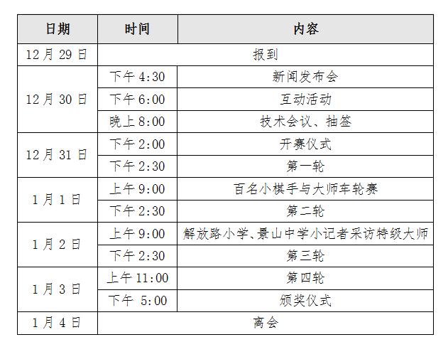 恒大杯中国(盐城)国际象棋大师巅峰赛竞赛规程