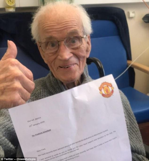 收到穆帅信件注册Ty8天游老人家十分高兴