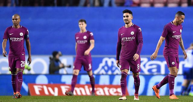足总杯-大冷!曼城0-1负英甲队出局
