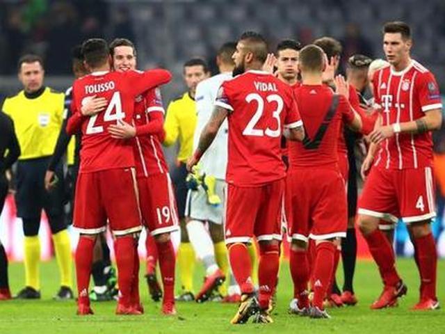 新援两球拜仁3-1巴黎