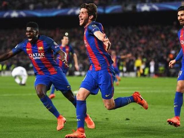 视频-欧冠淘汰赛10大经典战役 巴萨6-1巴黎惊天逆转