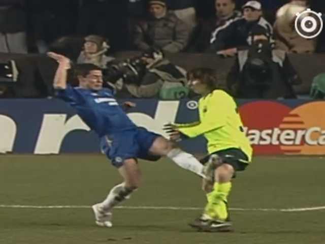 视频-梅西2006年客场vs切尔西个人集 风一样的少年