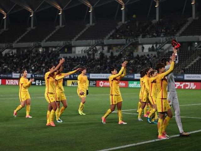 中国女足3-1完胜韩国女足