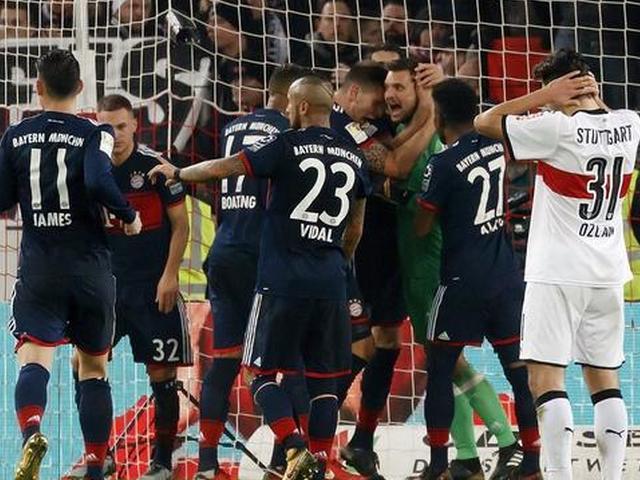 穆勒绝杀门神读秒扑点拜仁1-0