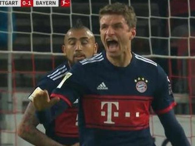拜仁1-0绝杀斯图加特