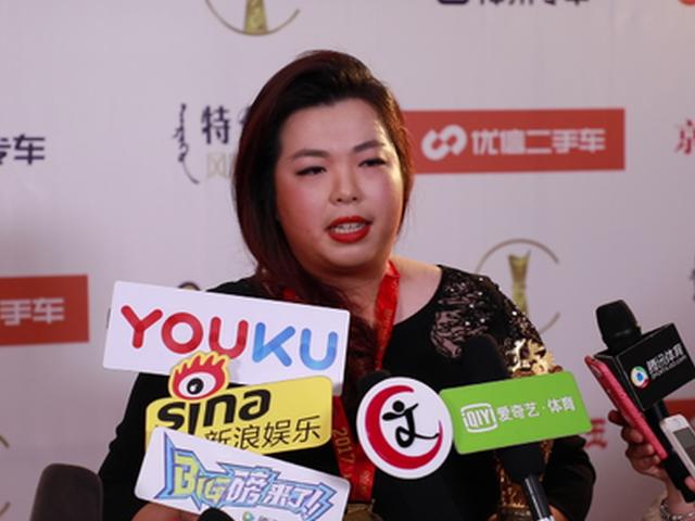 视频-冯珊珊获最佳突破奖:下一个目标是进入世界名人堂