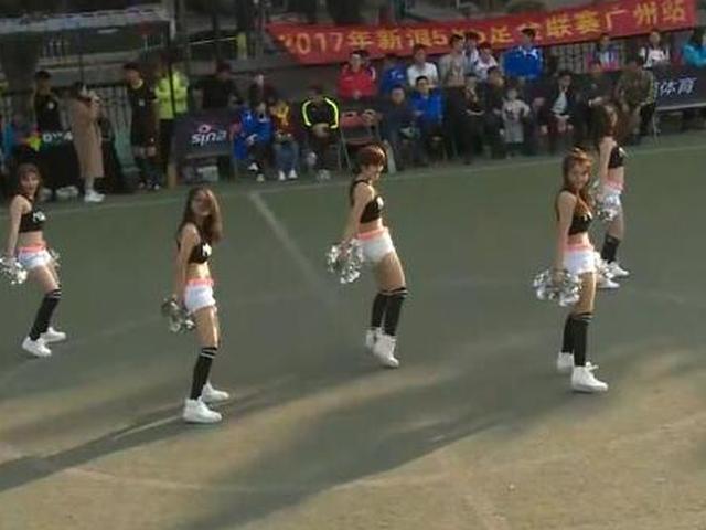 炫舞团热辣活力助阵决赛