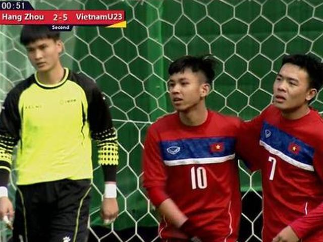越南U23队6-2杭州吴越获季军