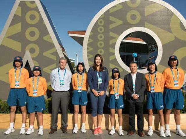 中国球童服务澳网成传统