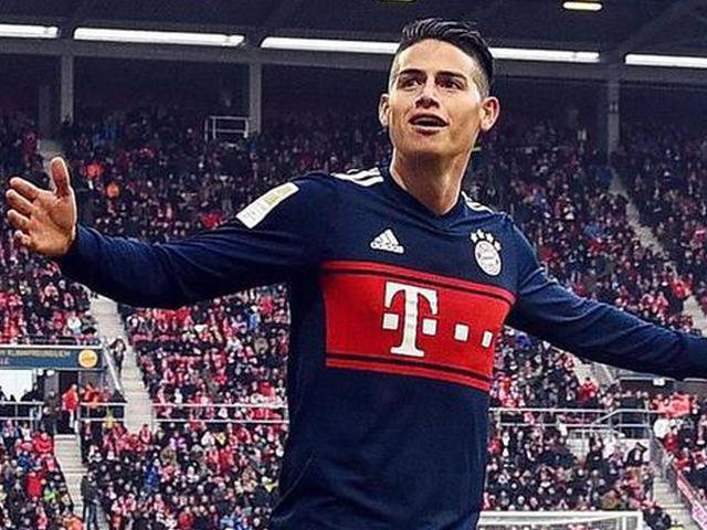 J罗破门拜仁客场2比0美因茨