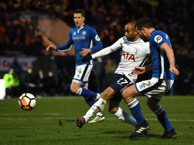 视频-小卢卡斯凯恩破门 足总杯热刺2-2遭英甲队绝平