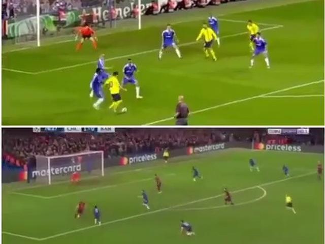 视频-时隔九年进球完美复刻 梅西小白助攻破门互换位置