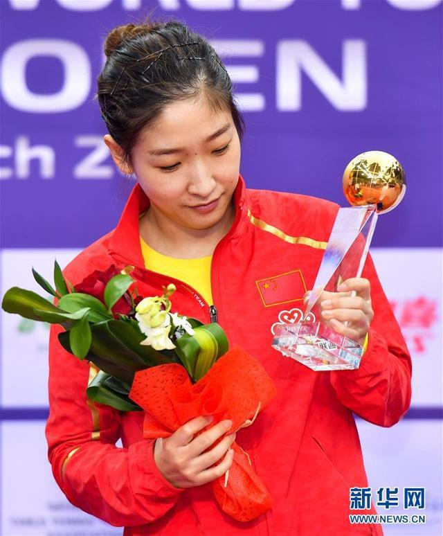 卫冕冠军刘诗雯