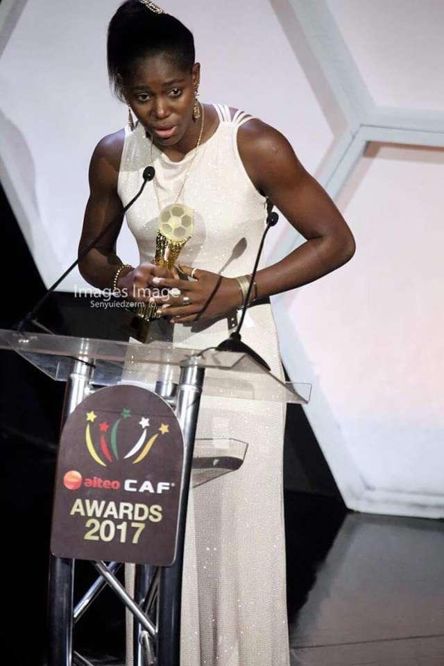 再度当选非洲足球小姐