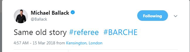 巴拉克回想起了那场比赛