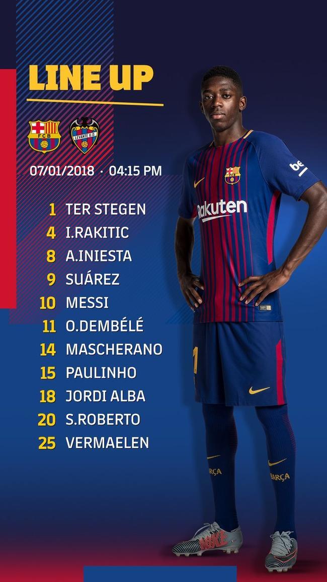 بارسلونا لوانته طرفداری