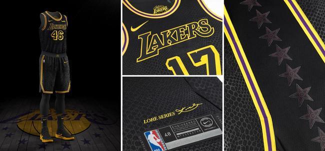 耐克发布NBA城市版球衣