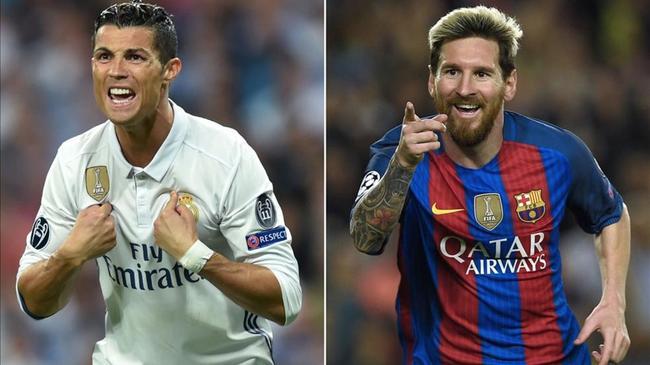 西班牙民调:梅西球迷多于C罗 皇马比巴萨人气高