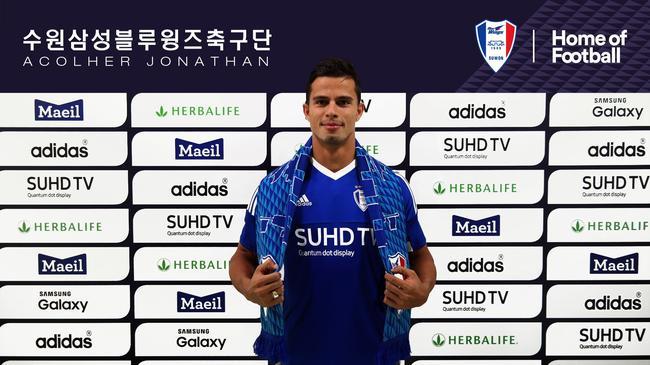 曝韩国K联赛金靴乔纳森无限靠近加盟泰达