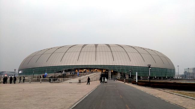 中超开幕式在天津水滴球场举行