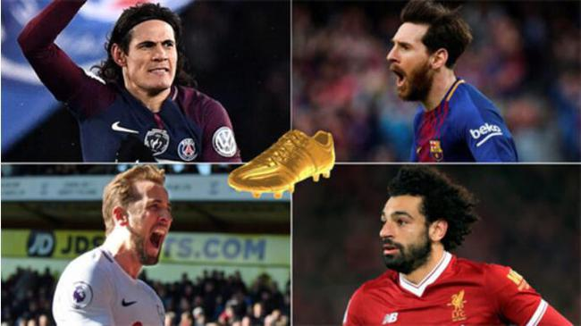 凯恩、萨拉赫等人在和梅西争夺欧洲金靴,但在其他数据上落后梅西不少