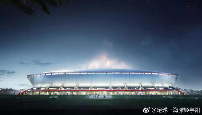 上港新主场设计方案正式获批 专业球场高大上|图
