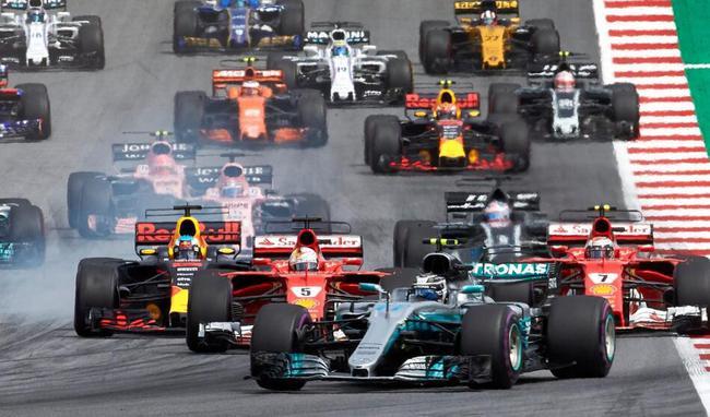 FIA官方宣布2018F1参赛名单