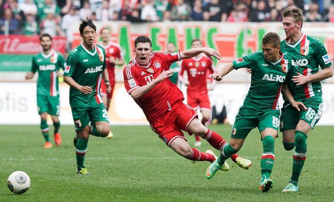 终结拜仁不败金身的是奥格斯堡